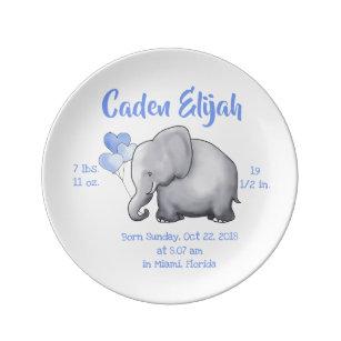 birth plates zazzle uk