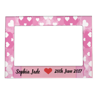 Personalised Baby Magnetic Photo Frame