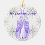 Personalised Ballet/Dancing Ornament 2012