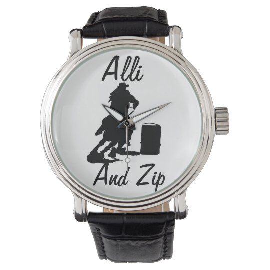 Personalised Barrel Racing Watch