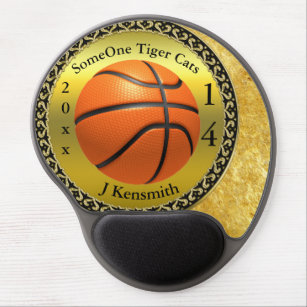 Personalised Basketball Champions League design Gel Mouse Mat