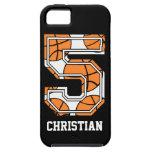 Personalised Basketball Number 5
