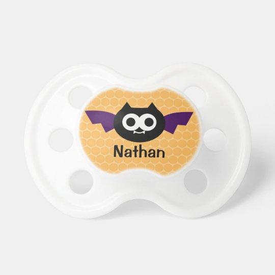 Personalised Bat Halloween Pacifier