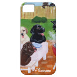 Personalised BBQ Labradors Case For The iPhone 5
