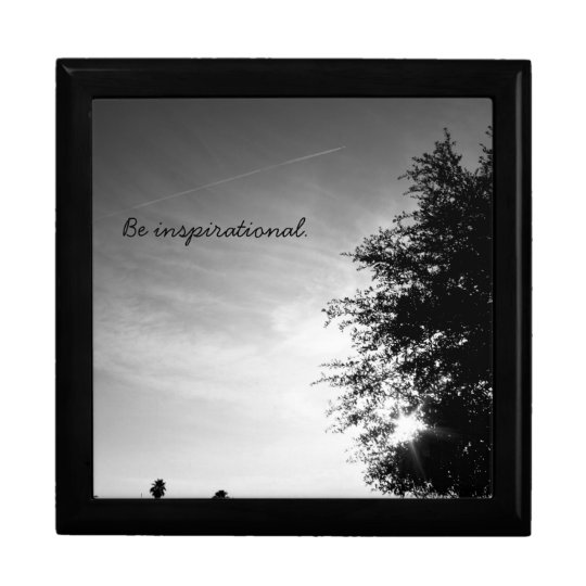 """Personalised """"Be inspirational"""" Gift Box"""