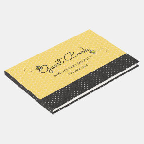 Personalised Bee Themed Baby Shower Guest Book