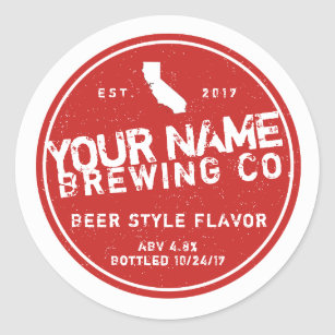 Personalised Beer Labels - Add your own words