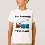 Personalised big brother train T-Shirt