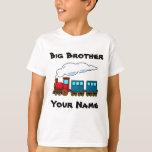 Personalised big brother train tshirt