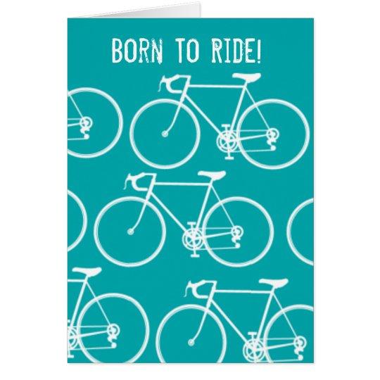 Personalised Bike note cards