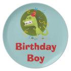 Personalised Birthday Boy Melamine Plates for Kids