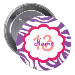 Personalised Birthday Button