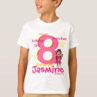 Personalised Birthday Girl Shirt
