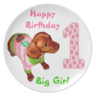Personalised Birthday Plates Babies 1st Birthday