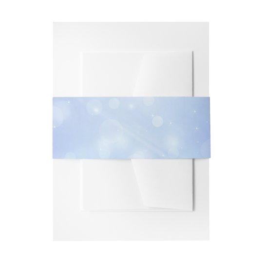 Personalised, blue bubble wedding invitation suite invitation