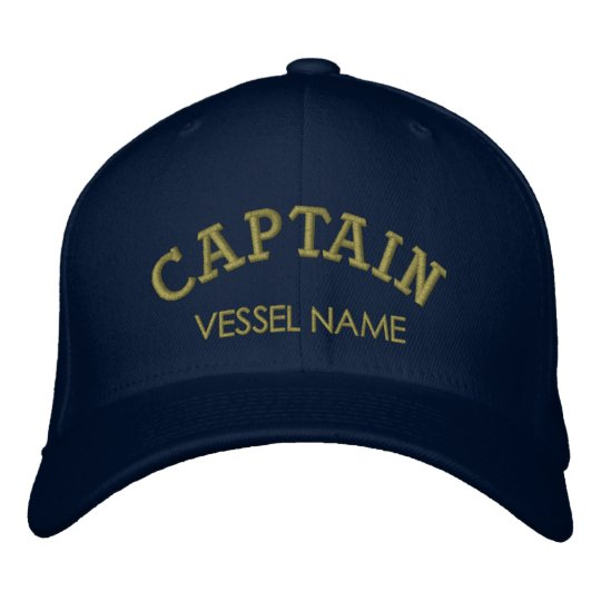 82e89d4758230 Personalised Boat Name Captain Hat