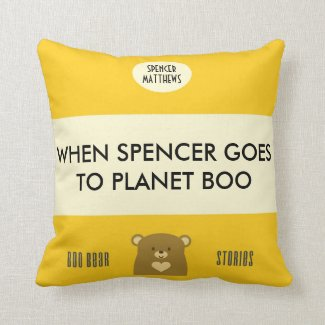 Personalised Boo Bear Stories - Sunflower Yellow
