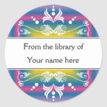 Personalised Bookplates - Colourful Flourishes