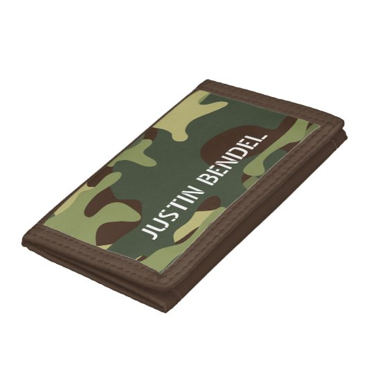 Personalised Boy's Men's Camo Camouflage Military