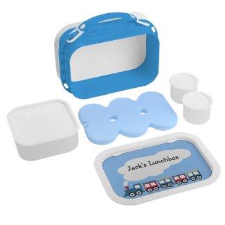 Personalised Boys Train Lunchbox