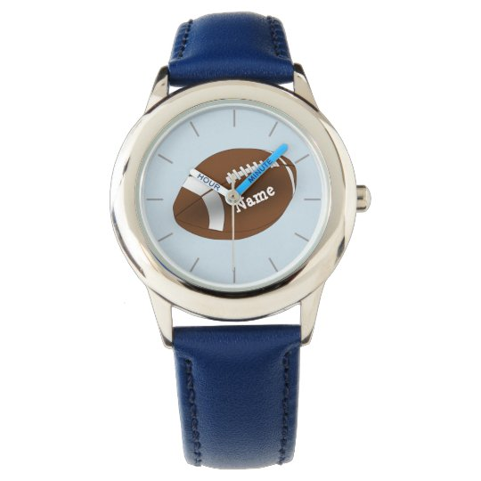 Personalised Boys Watch American FOOTBALL add name