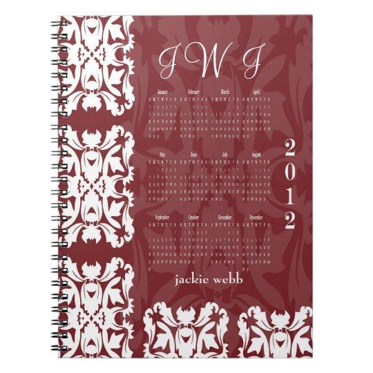 Personalised Bridal Notebook Journal Planner