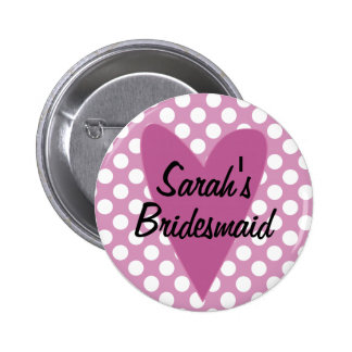 Browse the Bridemaid Badges Collection and personalise by colour, design or style.