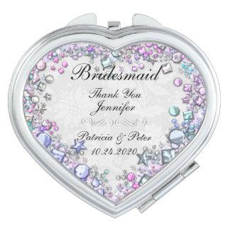 Personalised Bridesmaid Vanity Mirror