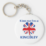 Personalised British Kiss Me I'm Kingsley
