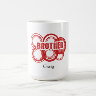 Personalised Brother Magic Mug