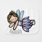 Personalised/Burp Cloth/Fairy Burp Cloth