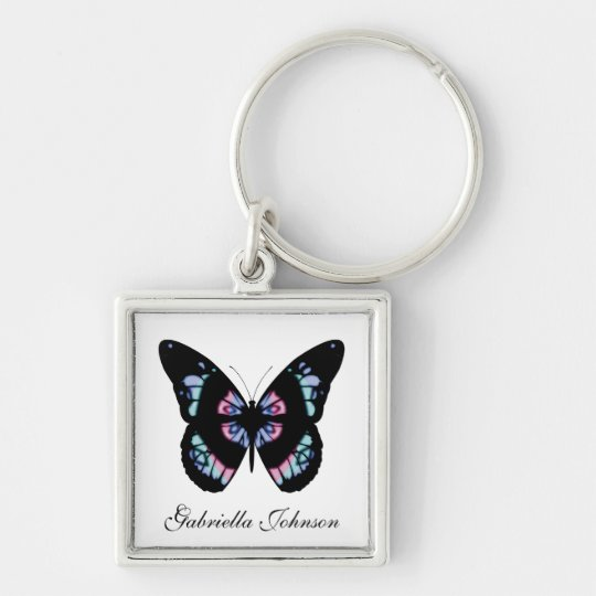 Personalised Butterfly Keychain