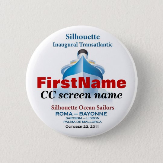 Personalised Button #3 (first & CC screen name)