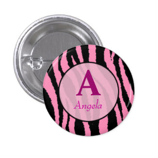 personalised button with your name