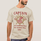 Personalised Captain First Mate Skipper Crew T-Shirt