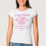 Personalised Captain First Mate Skipper Crew Tee Shirts