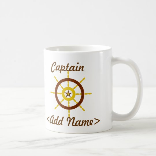 Personalised Captain Mug