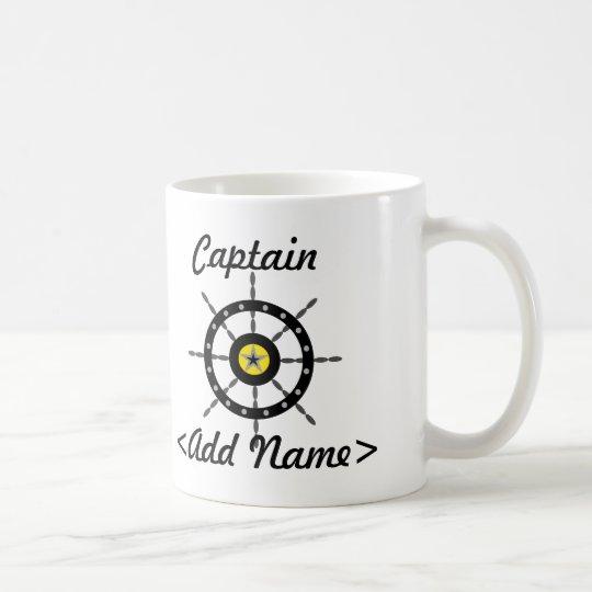 Personalised Captain Mug