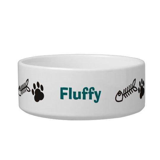 Personalised Cat Pet Bowl
