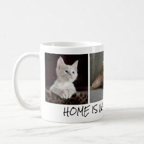 Personalised Cat Photos in Coffee Mug