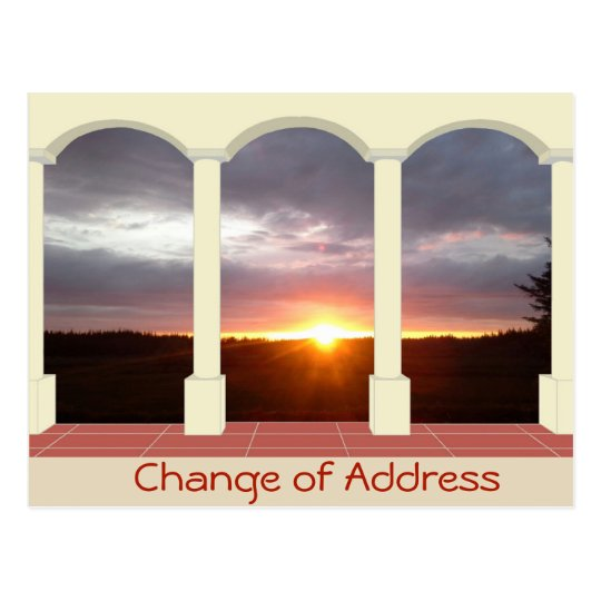 Personalised Change of Address Postcard