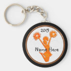 Personalised Cheer Keychains with NAME and YEAR