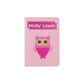 Personalised Children's Passport Holder - Miss Owl