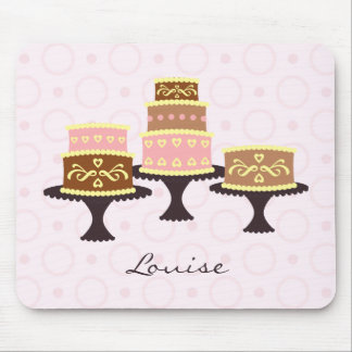 Personalised Chocolate Cake Mouse Mat