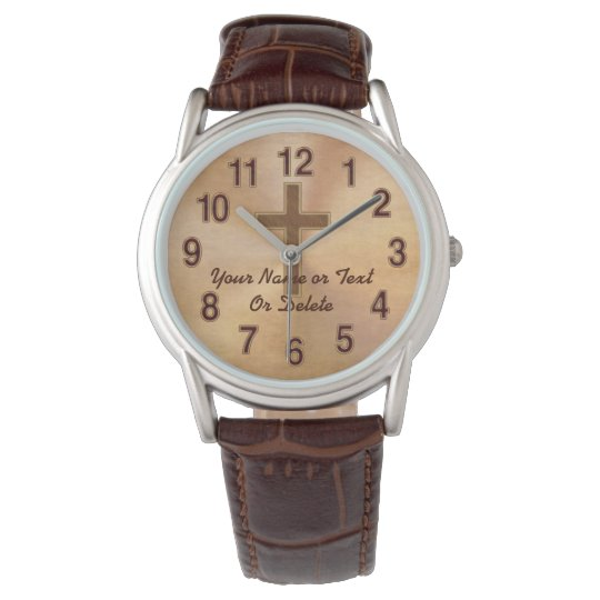 Personalised Christian Watches for Men or Women