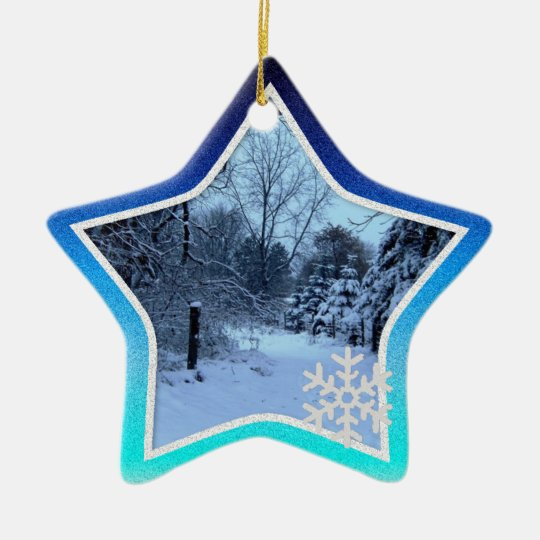 Personalised Christmas Star Ornament