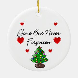 Personalised Christmas Tree Memorial Decoration