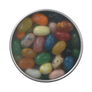 Personalised Clear Lid Candy Tin