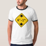 Personalised Clearance Height Highway Sign Shirts