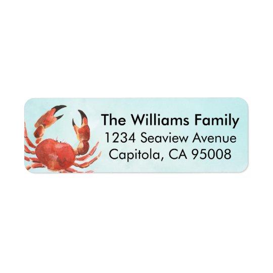 Personalised Coastal Crab